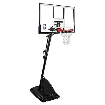 Spalding 66291 Pro Slam Portable Basketball System with 54 Acrylic Backboard