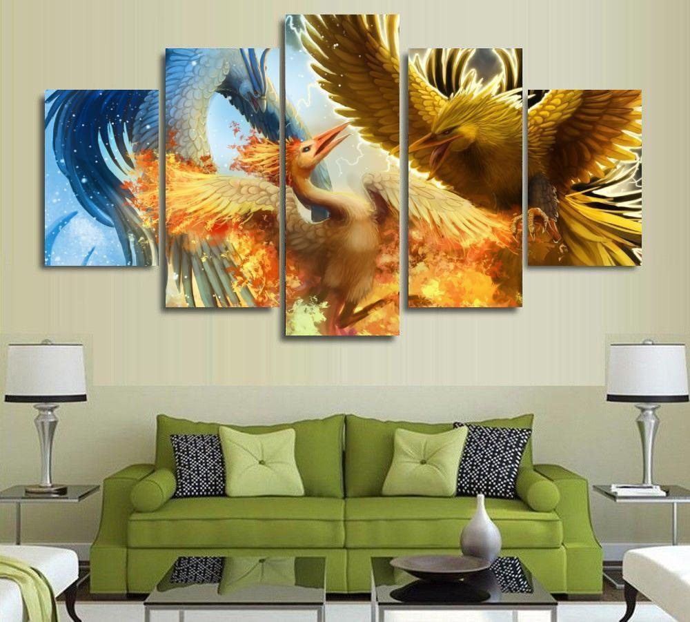 [Medium] Customize Your Own Pictures on Premium Quality Canvas Printed Wall Art Poster, Wall Decor Custom Painting, Home Decor Pictures - With Wooden Frame by PEACOCK JEWELS