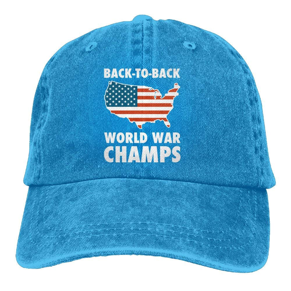 SUN ROSE Back-to-Back World War Champs.png Snapback Baseball Cap Flat Bill  Hat Adjustable Dad Hat at Amazon Men s Clothing store  574fe47770de