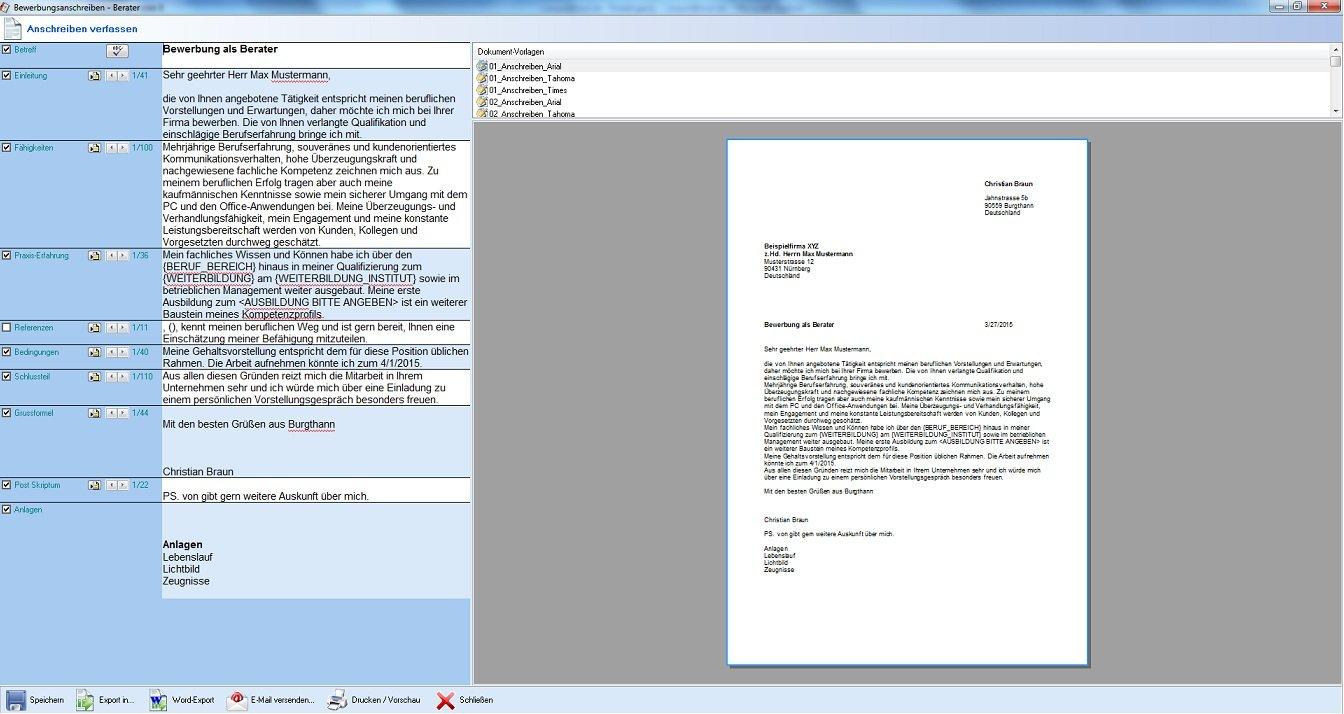 BewerbungsGenie 8 - Professionalle Bewerbungen schreiben: Amazon.de:  Software