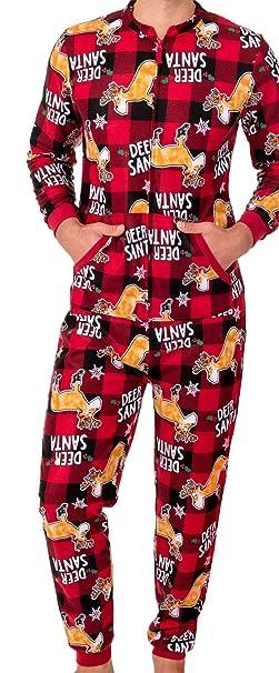 Amazon.com: Pijama completo Fruit Of The Loom para hombre ...