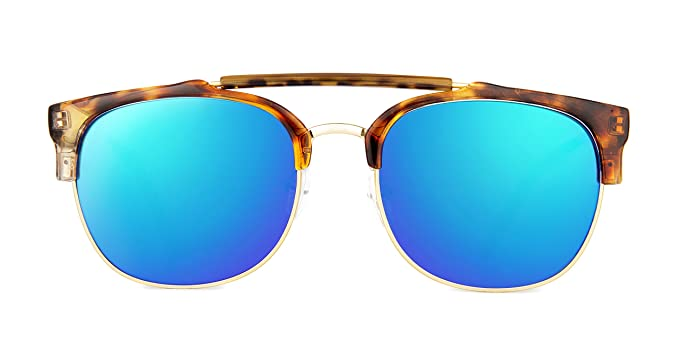Maltessa Vicco (Carey espejo verde) - Gafas de sol para ...