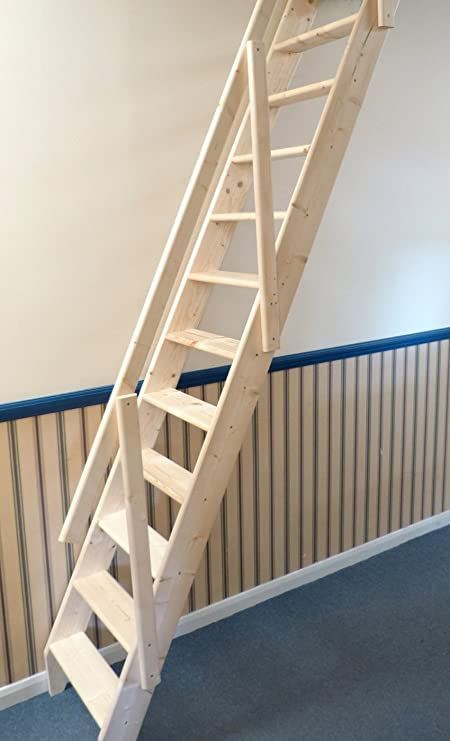Dolle Arundel Wooden Space Saver Staircase Kit (Loft Stair)   Suitable For  A Floor