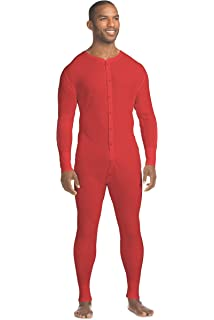 20360b94280a4b Hanes Men's Waffle Knit Thermal Union Suit with FreshIQ, X-Temp Technology  & Organic