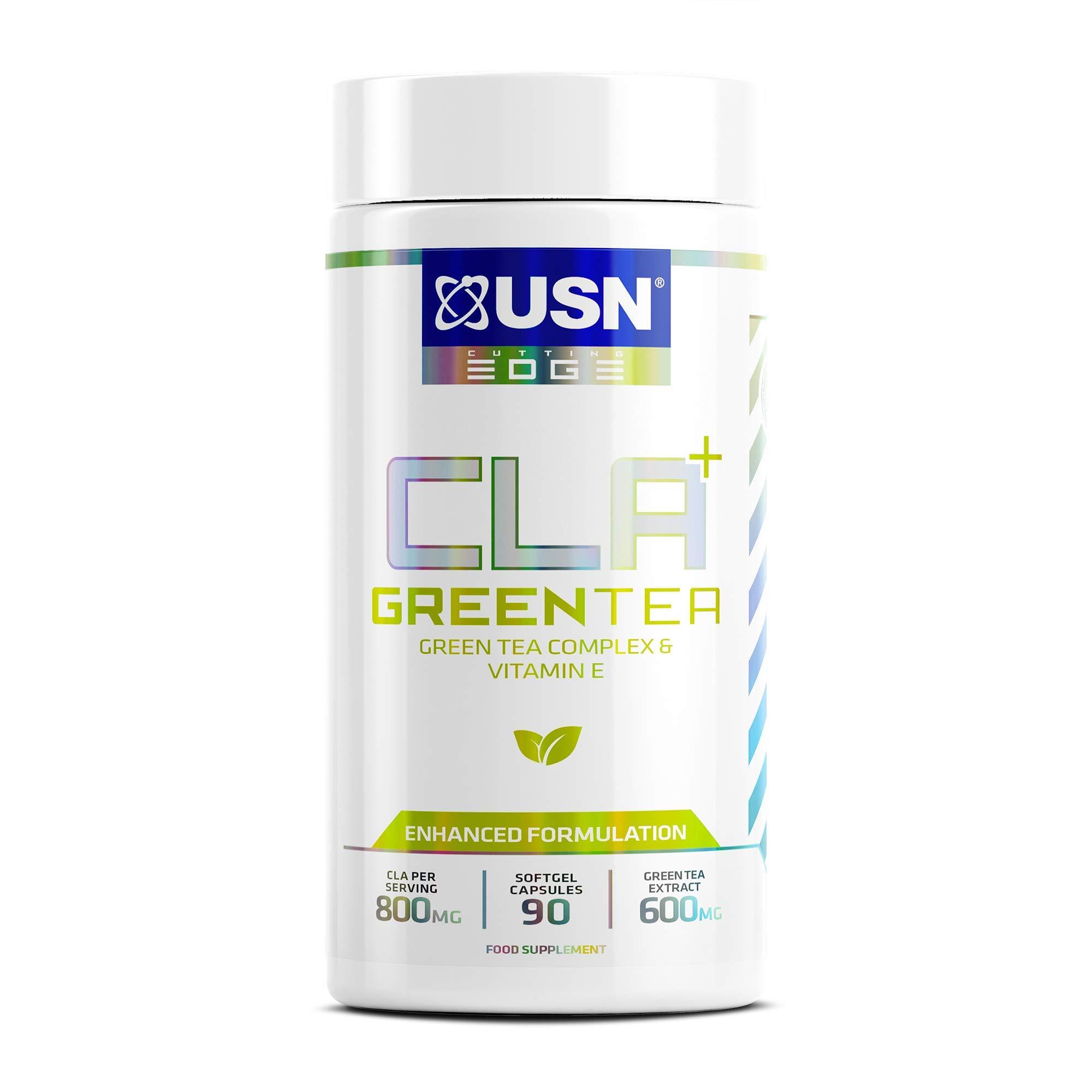 USN CLA Green Tea, Weight Loss 800 mg CLA, 600 mg Green Tea, 90 Soft Gel Capsules