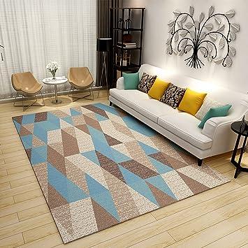 Uberlegen Amerikanischen Stil Geometrische Plaid Teppiche, Kamin Wohnzimmer  Schlafzimmer Sofa Couchtisch Teppich Nacht Rechteckigen Teppich,