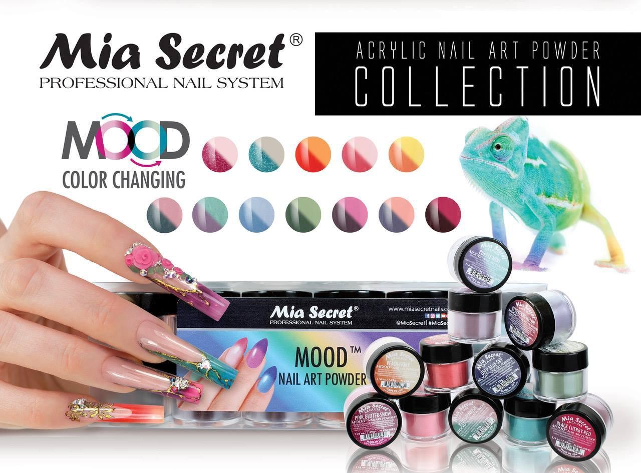 Amazon.com : 12PC Mia Secret Nail New Acrylic Art Powder New ...