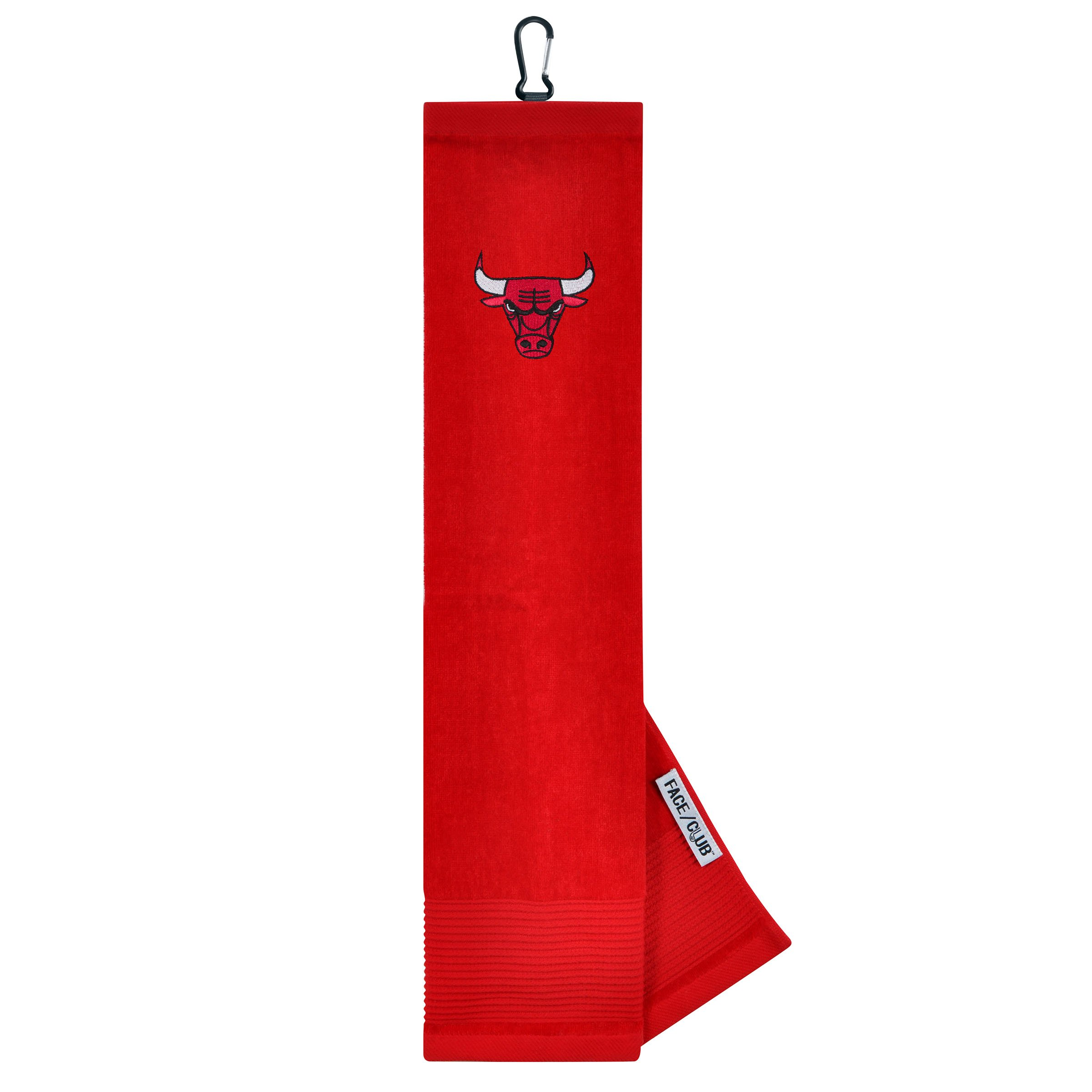 Team Effort NBA Chicago Bulls Face/Club Tri-Fold Embroidered Towelface/Club Tri-Fold Embroidered Towel, NA