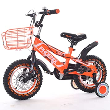 Bicicleta para niños Yhz 2-9 años de Edad Unisex 12/14/16/18 Pulgadas Carruaje para bebés Alumnos Trike de montaña con Ruedas de Entrenamiento: Amazon.es: ...