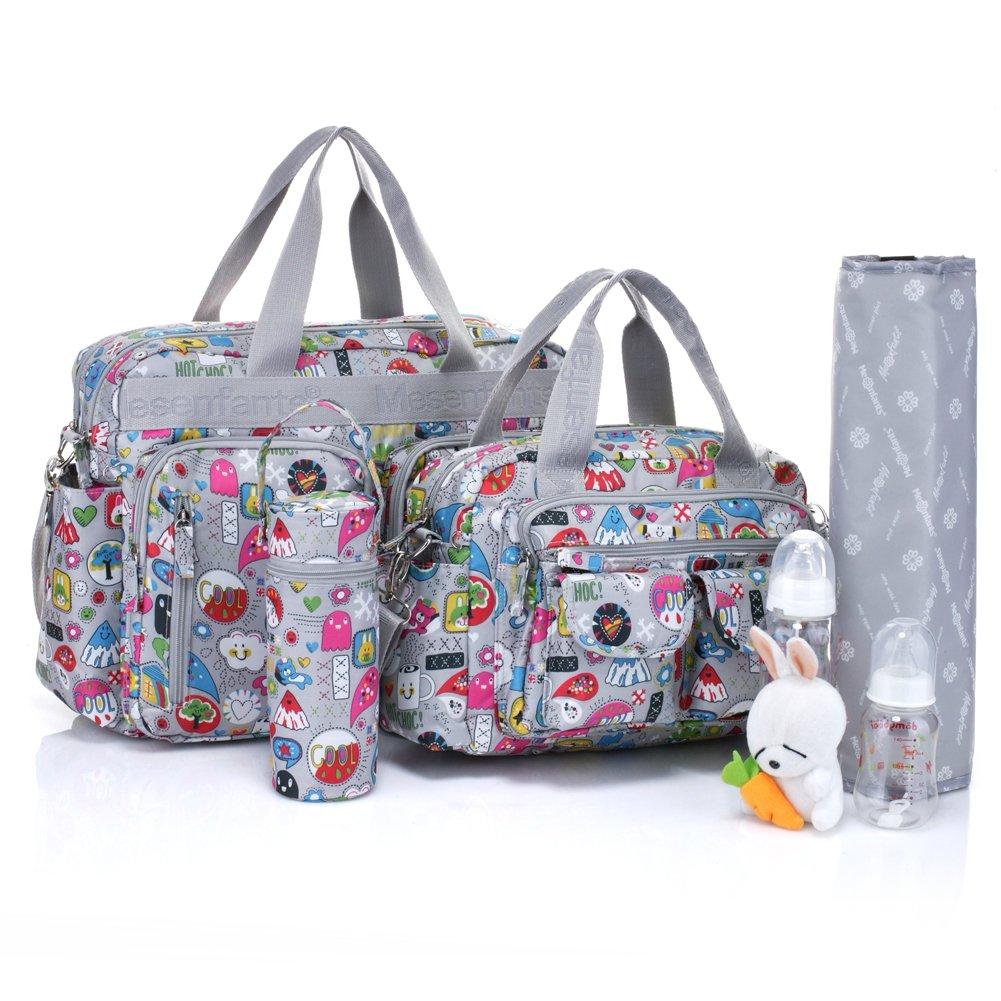 Bebamour que cambia de pañal para bolsa de palos de 4 piezas salas de operaciones una bolsa de regalos para ropa de bebé o que cambia de una bolsa de ...