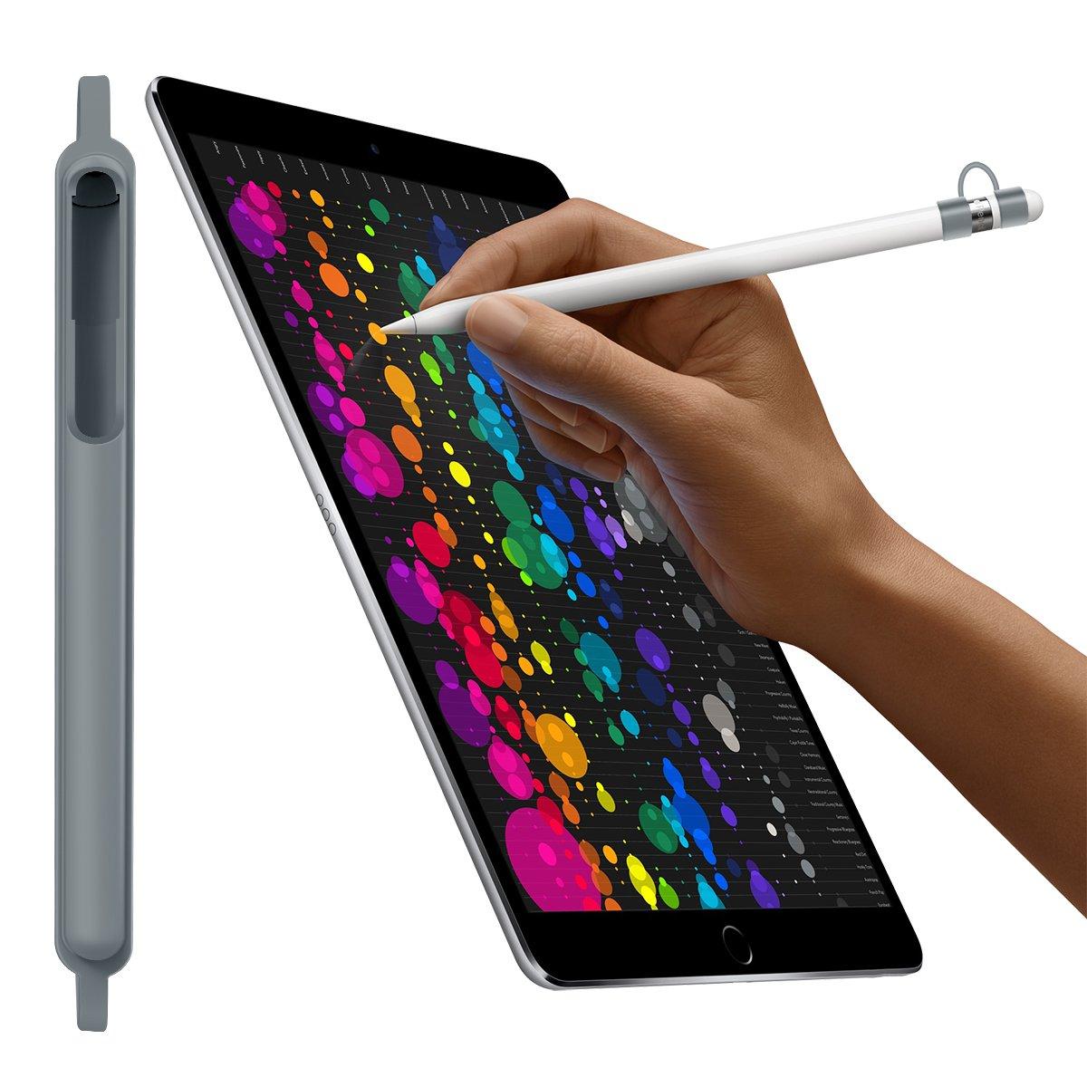 Kutop por Apple Pencil Funda Holder,iPad Pencil Cap Case Accesorios de protecci/ón es de Silicona Suave Chaqueta de Manga Shockproof Drop Proof Skin Cover para iPad Pro 9.7 iPad Pro 10.5 Pluma