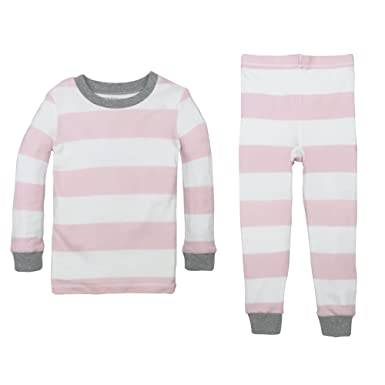 523ded9ec Amazon.com: Burt's Bees Baby Unisex Pajamas, Tee and Pant 2-Piece PJ ...