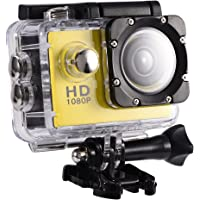 Mini DV-sportcamera, waterdichte buitensportactiecamera 1080P HD-camcorder, 2 inch high-definition scherm, 90 graden…