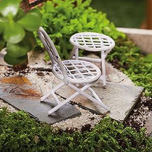 Mini Garden Table Set