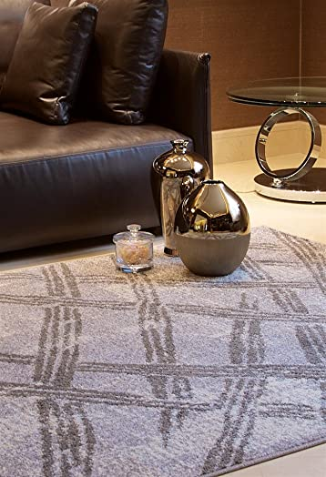 Luxury Fashion Modern Rugs For Living Room 5×8 Gray Cream Rug For Dining Room 5×7 Area Rugs Clearance, 5×8 Rugs