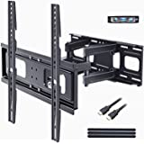 BLUE STONE Full Motion TV Wall Mounts TV Bracket for Most 32-65 Inch Flat Screen TVs, TV Mount with Articulating Dual…