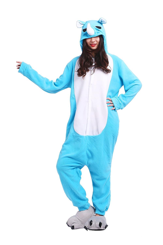 YUWELL Kigurumi Pijamas Cartoon Animal Novedad Navidad Pijama Cosplay Onesie: Amazon.es: Ropa y accesorios