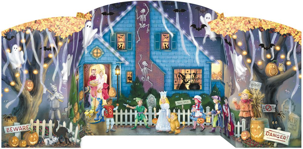Ghostly Gathering Countdown to Halloween Calendar Vermont Christmas Company