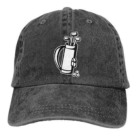 6999f946e2e WAYOULUCK Unisex Adjustable Baseball Cap Golf Cart Sports Hat at ...