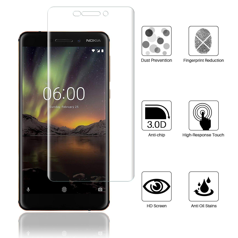LK for Nokia 6 1 Nokia 6 2018 Screen Protector Amazon Electronics
