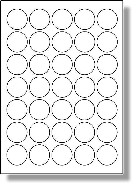 10 Blatt 36 St/ück pro Blatt f/ür Tintenstrahldrucker und Laserdrucker Naturbraun 360 Etiketten Label Planet/® KRAFT Etiketten auf Papier A4