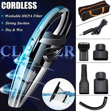 STARPIA Aspiradora de Coche sin Cable Portátil, USB Aspiradora de ...