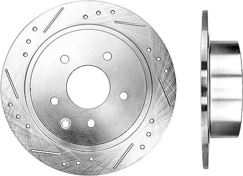 Rear OE Brake Calipers and Rotors Ceramic Pads Set Kit For NISSAN MAXIMA ALTIMA