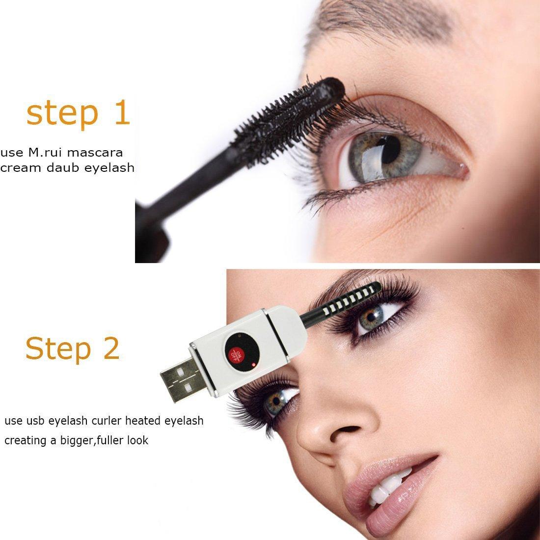 Amazon Gemtune Pro Rechargeable Heated Eyelash Curler Heated