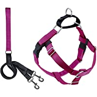2 Hounds Design Freedom No Pull Dog Harness   Adjustable Gentle Comfortable Control for Easy Dog Walking  for Small…