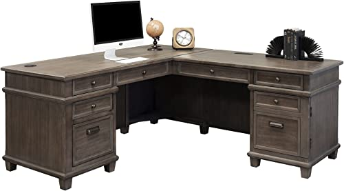 Martin Furniture Desk And Return