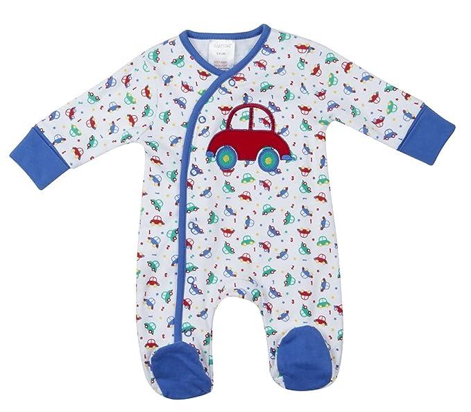 Baby Town - Pelele para Dormir - Manga Larga - para bebé Niño Blanco Blanco 3-6 Meses: Amazon.es: Ropa y accesorios