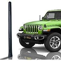 "CK FORMULA Bending SUV Antenna, 7"" Black Automotive Antenna Replacement, AM/FM Radio Compatibility, Internal Copper Coil…"