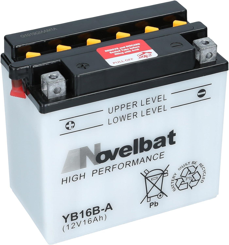 Novelbat Yb16b A Motorradbatterie 12v 16ah 180a Auto