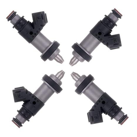 Amazon com: OCPTY Fuel Injector, 4pcs 1 Holes Replacement