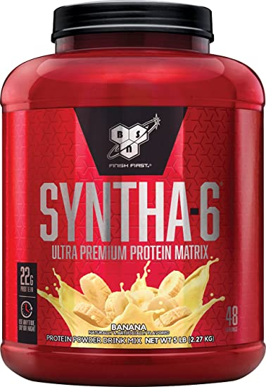 BSN SYNTHA 6 Whey Protein Powder Micellar Casein Milk Isolate