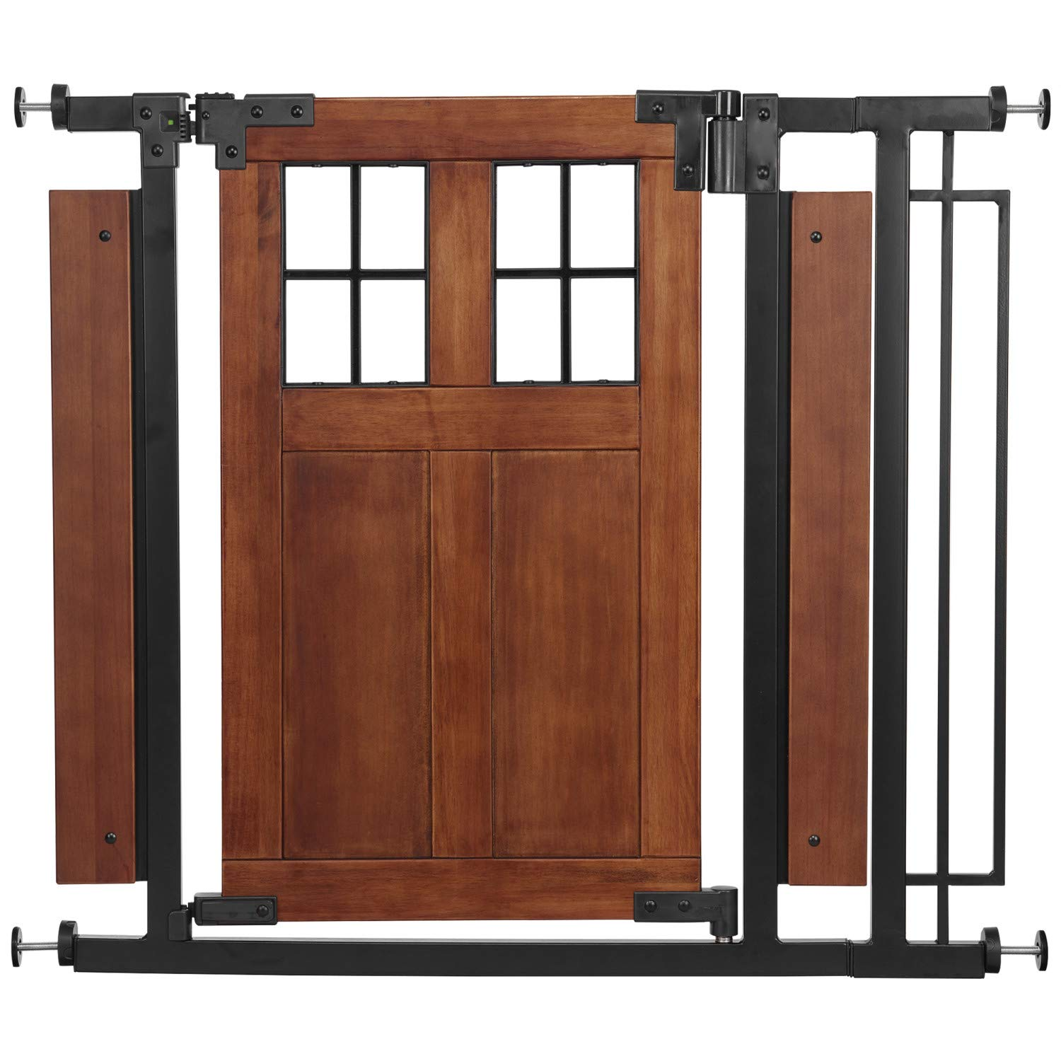 Evenflo Barn Door Walk-Thru Gate (Farmhouse Collection) by Evenflo