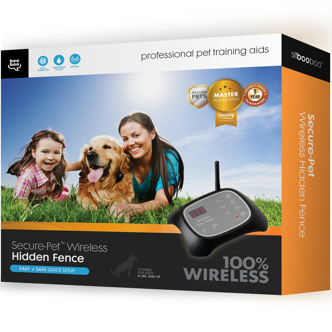Sit Boo-Boo Secure-Pet Invisible Wireless Fence And Containment System