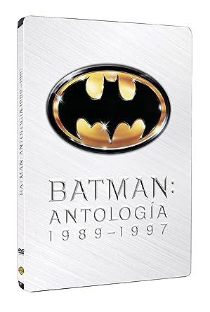 Pack Batman + Batman Vuelve + Batman Forever + Batman Y Robin Steelbook DVD: Amazon.es: Val Kilmer, Tommy Lee Jones, Jim Carrey, Joel Schumacher, Tim Burton, Val Kilmer, Tommy Lee Jones, Tim