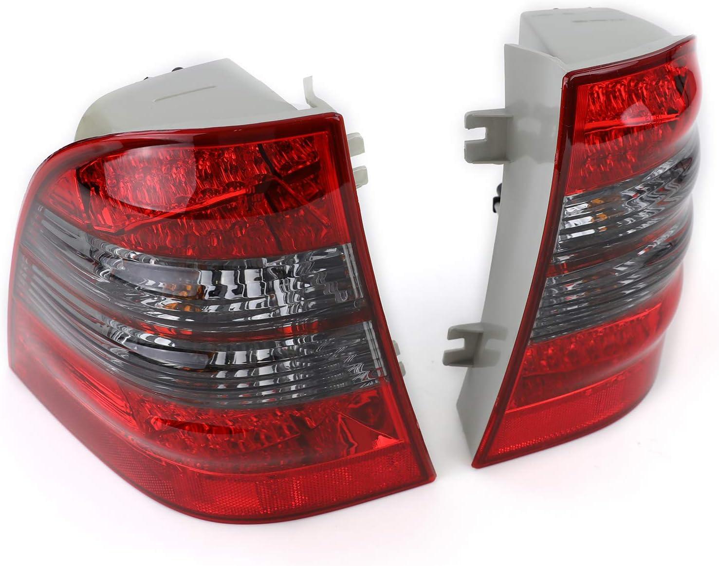 Carparts Online 12375 Led Rückleuchten Rot Schwarz Auto