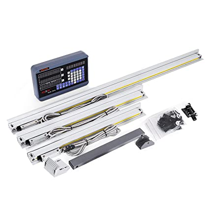 Amazon.com: VEVOR 3 Axis Digital Readout DRO Display 450mm+500mm+1000mm Travel Length Precision Linear Scale 17.7+19.7+40 Inch for Mill Milling Machine: ...