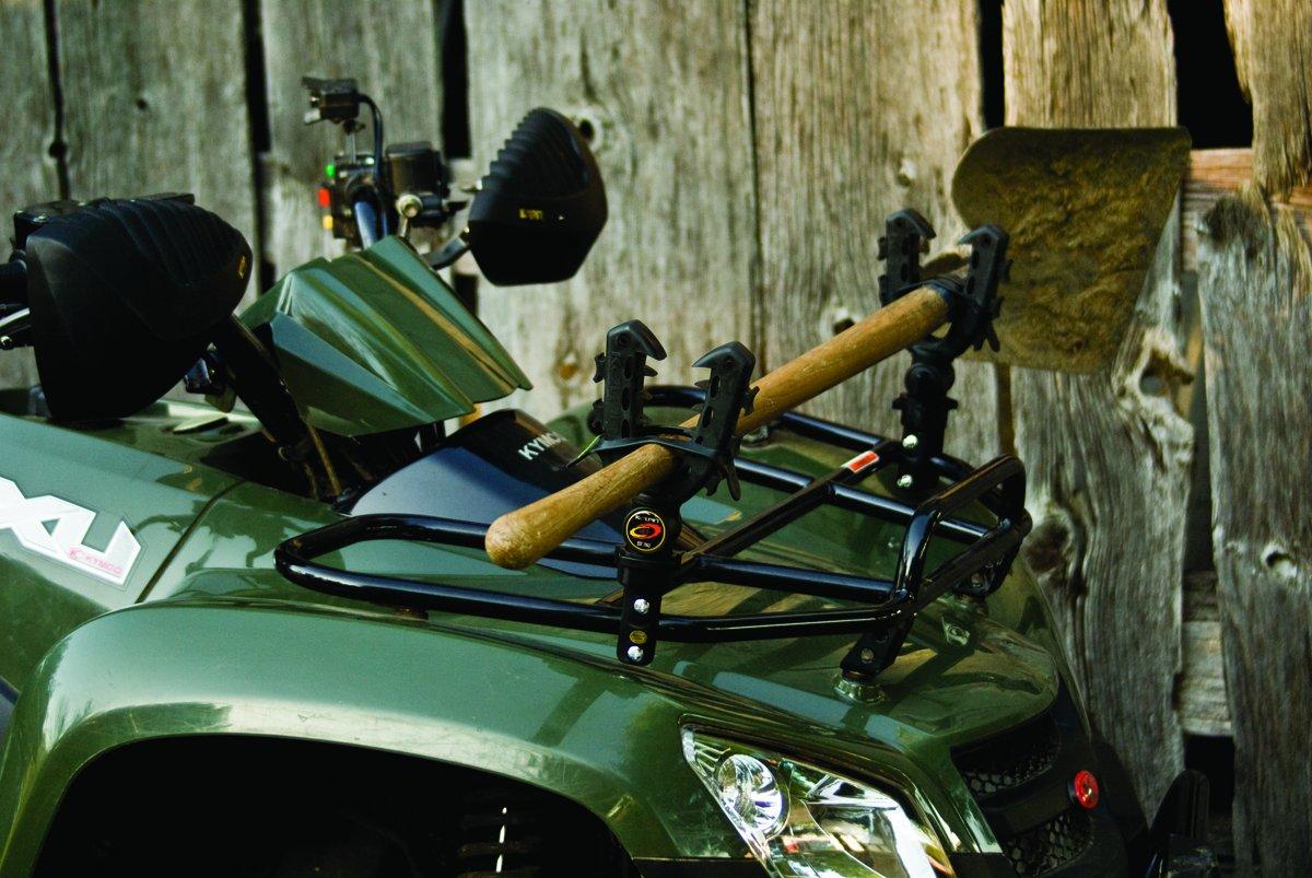 atv gun rack rubber straps