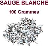 Sauge Blanche sèche de californie - sachet de 100 gr - Pour Fumigation et Purification