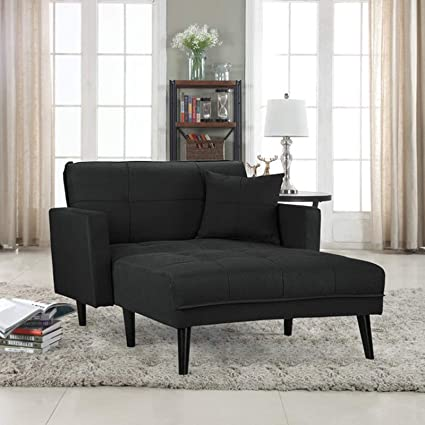 Charmant Modern Chaise Lounge   Living Room Lounger   Indoor Sleeper Couch    Upholstered Guest Bed