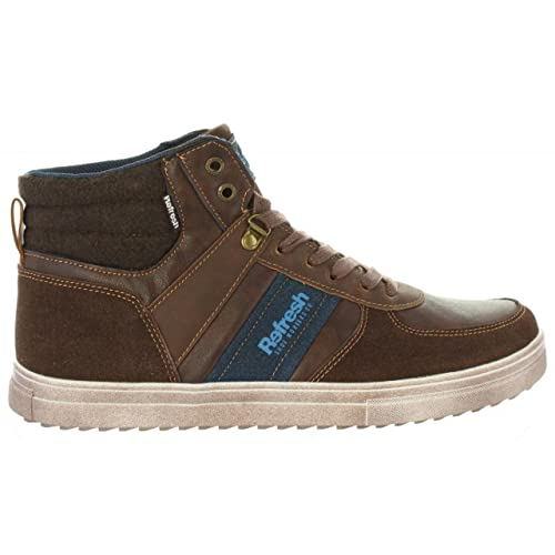 Botines de Hombre REFRESH 63943 C Marron: Amazon.es: Zapatos y complementos