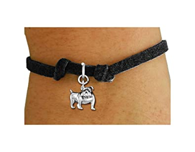 Amazon com: Lonestar Jewelry Polished Silver Tone Bulldog Charm