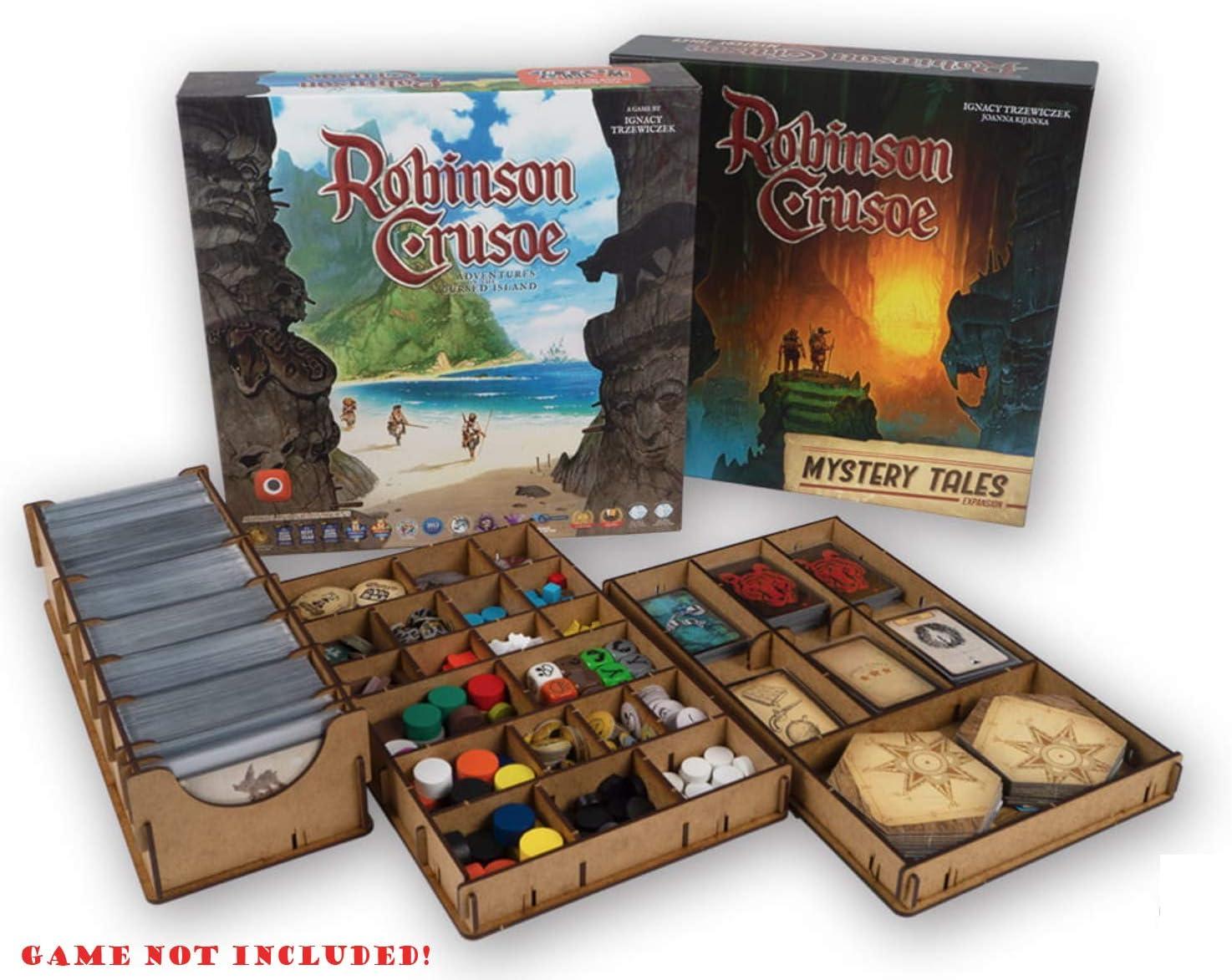 docsmagic.de Organizer Insert for Robinson Crusoe 2nd Edition Box - Encarte: Amazon.es: Juguetes y juegos