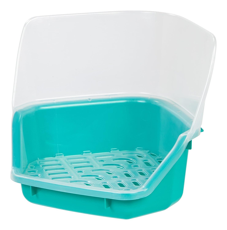 IRIS Rabbit Litter Pan with Scoop Seafoam Green