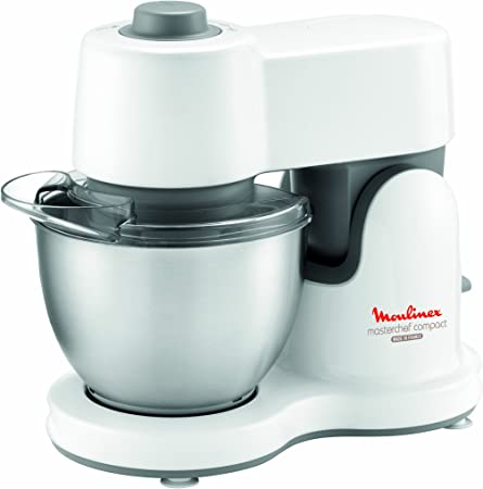 Moulinex Masterchef Compact - Robot de cocina (Color blanco, 360 mm, 170 mm, 300 mm, Acero inoxidable): Amazon.es: Hogar