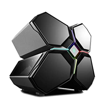 DEEPCOOL Quadstellar Caja PC Gaming Inteligente E-ATX con Sistema de Iluminación RGB y Control