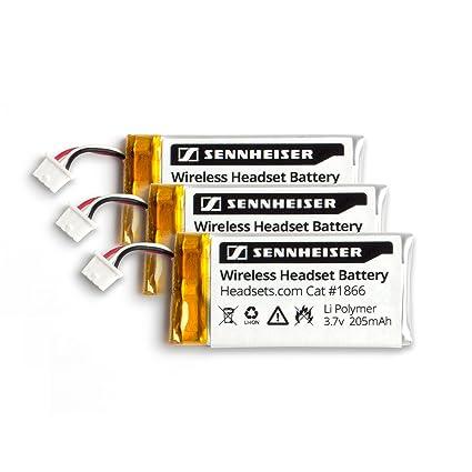2d020939e3d Sennheiser Replacement Rechargeable Battery for OfficeRunner Wireless  Headset DW Office DW Pro1 DW Pro2 SD Office